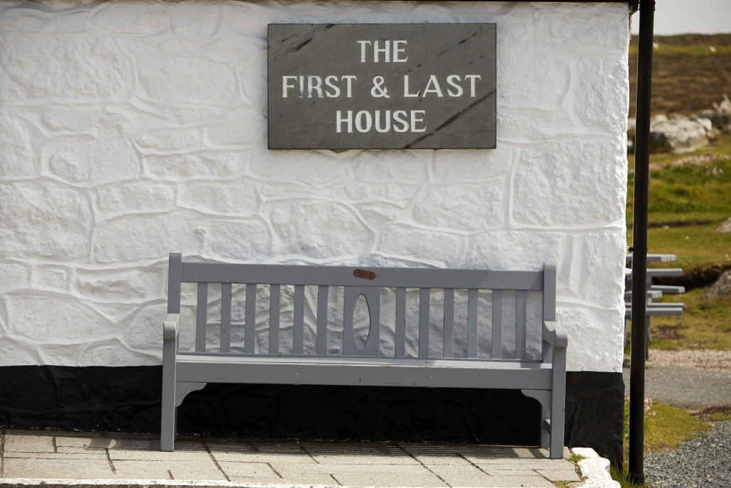 The first and last house